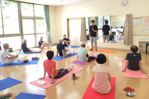 体操教室の写真
